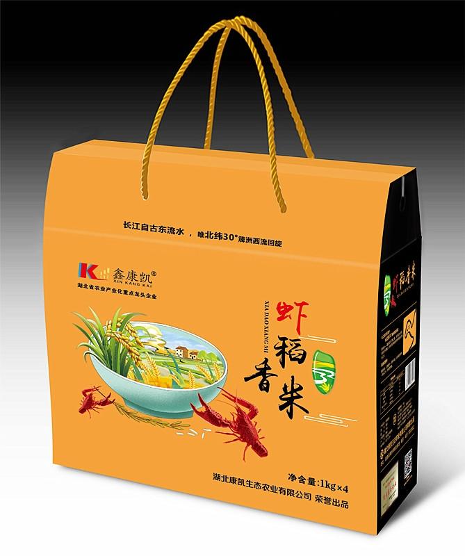簰洲湾虾稻香米礼盒4kg